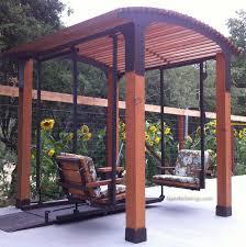 ironwood products pergolas wheelchair swing