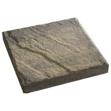 Patio Stone Prices by Pavestone 12 In X 12 In Red Concrete Step Stone 71251 The Home