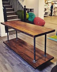 this is a display table but it would make a great kitchen island