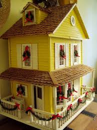 Dollhouse Decorating by Dollhouse Decorated For Christmas