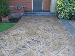 Stamped Concrete Patio Diy Stamped Concrete Patios Home Design By Fuller