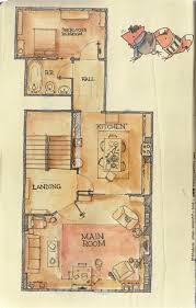 221b baker street floor plan the layout of the main level of the apartment 221b baker street