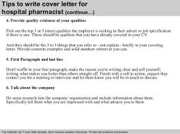 clinical pharmacist cover letter clinical pharmacist cover letter