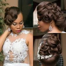 bridal wedding hairstyle for long hair 16 gorgeous wedding hairstyles for nigerian brides by hair stylist