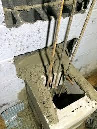 Block Basement Wall Repair by Foundation Repair