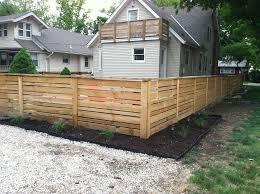 new backyard fence ideas leafguard of west michigan