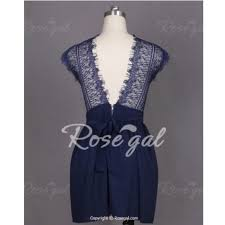 50 off rosegal dresses u0026 skirts navy blue lace dress from