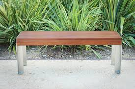 Ipe Bench Etra Small Bench Modern Outdoor Designs Patio Bench