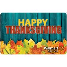 happy thanksgiving walmart gift card walmart