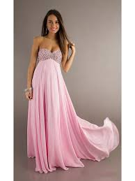 maternity dress sweetheart beaded pink chiffon prom evening formal maternity