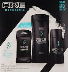 men set axe regimen gift set for men apollo 3 pc beauty