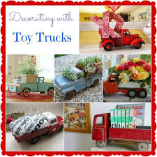 Ideas For Decorating Your Home 43 Best Toy Truck Decorating Images On Pinterest Merry Christmas