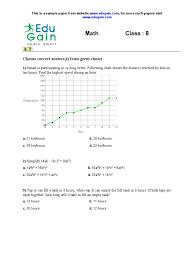 class 8 sample math olympiad paper
