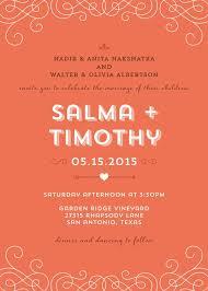 Wedding Invitations San Antonio Non Traditional Wedding Invitation Wording Badbrya Com