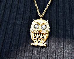 vintage owl necklace jewelry images Vintage owl jewelry etsy jpg