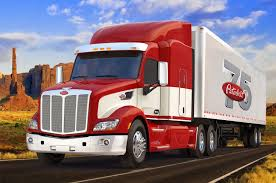 peterbilt show trucks peterbilt 579 75th anniversary edition unveiled at mid america
