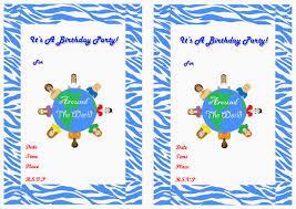caillou birthday invitations around the world birthday invitations u2013 birthday printable
