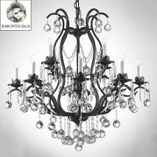 Swarovski Crystal Home Decor Wrought Iron Crystal Chandelier Chandelier Models
