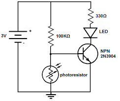 how to build a dark activated light circuit