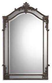 Uttermost Mirror Uttermost Alvita Medium Arch Ornate Mirror 08045 B
