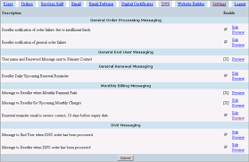 configuring email message templates