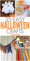 Kids Halloween Crafts Easy - 25 spooky easy to make halloween crafts for kids