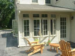 stone front porch posts