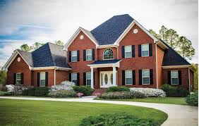 new american home plans download brick home plans house scheme