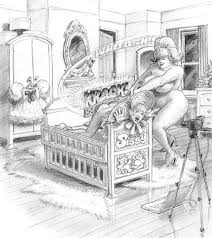 Mother In Law Unit An Illustration Of The Punishment Meted Out To A Sissy Who Had The