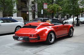 porsche carrera red 1989 porsche 911 carrera speedster stock gc charlie03 for sale