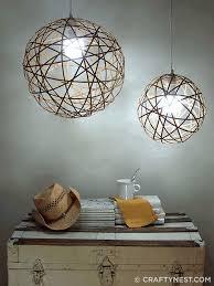 diy light pendant bamboo orb pendant lights crafty nest