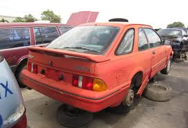 ford opal junkyard find 1989 merkur xr4ti the truth about cars