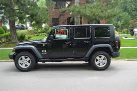 used 4 door jeep wrangler rubicon for sale buy used 2008 black jeep wrangler 43 000 4 door w top