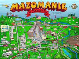 Wisconsin State Park Map by Getting Around Village Of Mazomanie