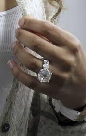 Huge Wedding Rings by Engagement Rings How Big Is Too Big Proposal Ideas Blog