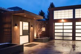 modern front door gardens imposing contemporary home in aspen