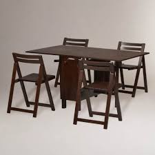 Space Saving Dining Table by Dining Room Oak Kitchen Table And Chairs Set Space Saving Dining
