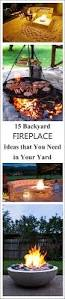 backyard fireplace ideas that you need in your yard