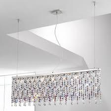 Prisma Lighting Kolarz Prisma Chrome 7 Light Linear Ceiling Light Pendant With