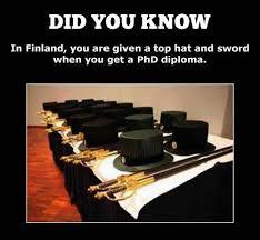 Scandinavian doctoral swords and hats   Forteantimes Forums Fortean Times Forum  quot A doctoral hat  Finnish tohtorinhattu  Swedish doktorshatt  is a major part of the academic dress of Ph D  recipients in Finland and Sweden
