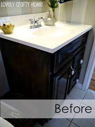 Black Bathroom Cabinet Ideas by Painting Bathroom Cabinets Love The Color Scheme And The White