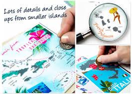 Tahiti Map World by Channeldistribution Scrape Map World Edition Deluxe