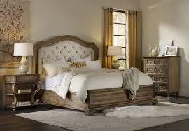 amazon com hooker furniture solana upholstered panel bed in light