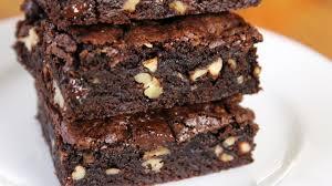 dark chocolate fudge brownies easy recipe no butter youtube