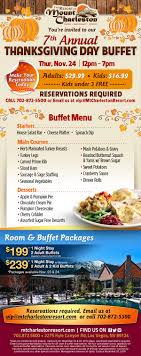 11 24 7th annual thanksgiving day buffetmake your reservations