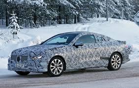 2018 mercedes e class coupe spotted testing autoguide com news