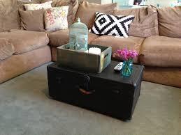trunk coffee table diy the baeza blog diy trunk coffee table