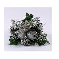 christmas picks christmas with apple leaf parcel the essentials company