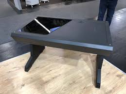 Kickstarter Gaming Desk Aerocool Reveal Prototype Gaming Desks Eteknix