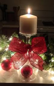bicchiere capovolto alberibeti pinterest wine glass candle